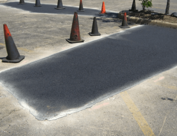 Parking Lot Repair Johns Creek GA