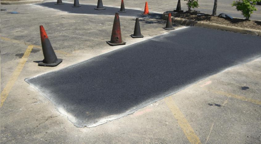 Parking Lot Repair Johns Creek GA