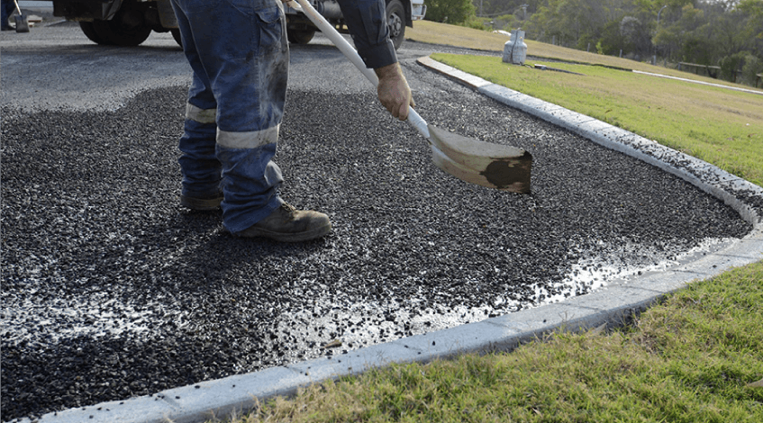 Tar and Chip Paving Johns Creek GA